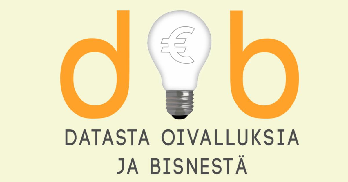 Dob – Datasta oivalluksia ja bisnestä