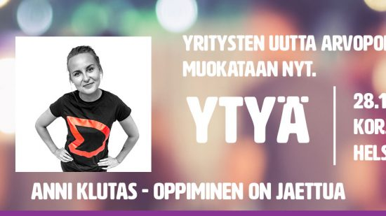 Oppiminen on jaettua – Dare to Learn!