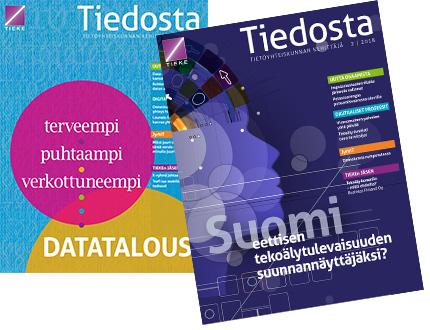 Tiedosta-lehti 2018 kansikuvat mediakortissa
