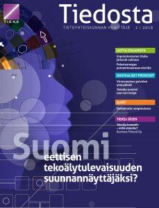 Tiedosta-lehden 2/2018 kansi