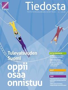 Tiedosta-lehden 1/2019 kansi