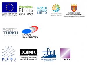 DigiPort-hankkeen toimijoiden logot