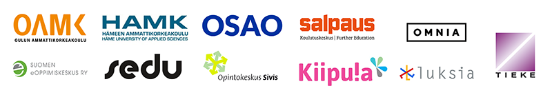 Hanketoimijoiden logot