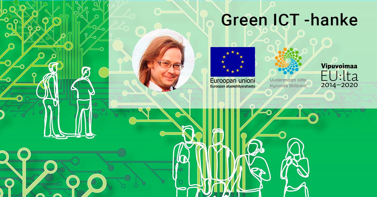 Green ICT -hankkeen projektipäälliköksi Antti Sipilä