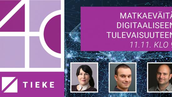 #TIEKE40-tapahtuma: tule visioimaan kestävää digitaalista tulevaisuutta!